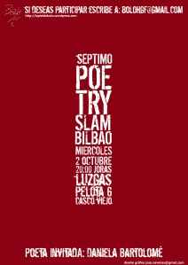 VII poetry slama bilbao 2 0ctubre