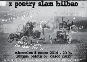 X Poetry Slam Bilbao